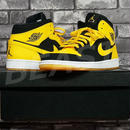 AIR JORDAN 1 MID 554724-035 Black/White/Varsity Maze NEW LOVE NIKE ナイキ エアジョーダン