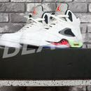 AIR JORDAN 5 RETRO 28.5CM  136027-115 WHITE/INFRARED 23-LIGHT POISON GREEN-BLACK NIKE ナイキ エアジョーダン 中古