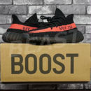 adidas YEEZY BOOST 350 V2 BY9612 BLACK/RED US8.5 アディダス イージーブースト 黒赤