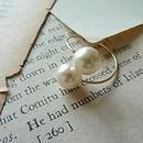 hug pearl ring