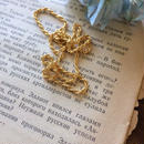 vintage dead stock necklace chain  rope