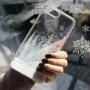【即納】iPhoneケース 雪 冬 スマホケース 携帯ケース シンプル 韓国 人気 綺麗 iPhone6 iPhone6s 7 7プラス iPhone8 8プラス iPhoneX iPhoneXS