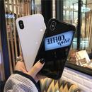 【即納】ホワイト 磁石  iPhoneケース
