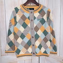 Lilisia Cardigan green x orange
