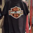 CRANKxBENTY'S WネームTシャツ