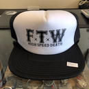 DEATH SQUAD FTW HIGH SPEED DEATH メッシュキャップ
