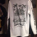 SKETCHY TANK SAVAGE L/S Tシャツ