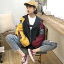 【お取り寄せ商品】ヒットカラーステッチジャケット