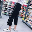 【お取り寄せ商品】サイドラインワイドパンツ LP16