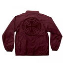 INDEPENDENT SPEED KILLS COACH JACKET MAROON