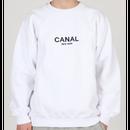 "Canal ""Premium"" Pullover - White"
