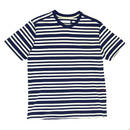 POP TRIPLE STRIPE POCKET T-SHIRT NAVY