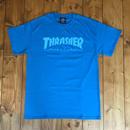 Thrasher Magazine Logo Tee - Sapphire