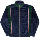 YARDSALE Blue/Emerald green velour tracktop