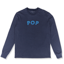 POP UNI LONGSLEEVE T-SHIRT NAVY