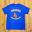 HARDIES HARDWARE HEAVY WEIGHTS TEE ROYAL