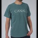 "Canal ""Goudy"" Tee - Spruce"