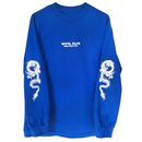 HOTEL BLUE Dragon LongSleeve - Royal Blue