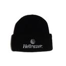 Hellrazor Trademark Logo Watch Cap - Black