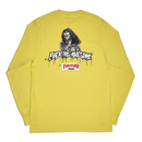 FUCKING AWESOME x THRASHER Trash Me Long sleeve T-shirts Yellow