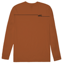 WKND Long Line Long Sleeve Burnt - Orange