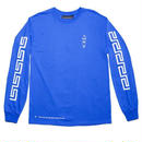 CALL ME 917 Coffee Long Sleeve T-Shirt Blue