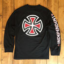 Independent truck Co. Bar/Cross L/S T-Shirt - Black