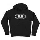 REAL OG OVAL HOODY BLACK/GREY