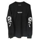 HOTEL BLUE Dragon LongSleeve - Black