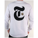 Theories TOA Times Long Sleeve Tee - White
