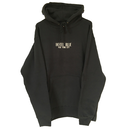 HOTEL BLUE Logo Hoody - Black/Cream