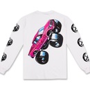 LIFE'S A BEACH LAB Monster Long Sleeve White