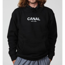 "Canal ""Classic Logo"" Black Hoodie"