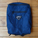 COMA Navy blue canvas backpack