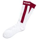 WKND Baseball Sock - Wine