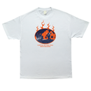 COME SUNDOWN COAL RICH S/S TEE WHITE