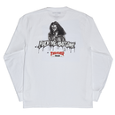 FUCKING AWESOME x THRASHER Trash Me Long sleeve T-shirts White