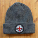 INDEPENDENT BEANIE - CHARCOAL GREY