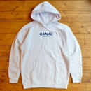 "CANAL ""CLASSIC LOGO"" HOODIE - WHITE"