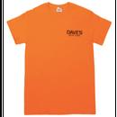 Dave's New York Short Sleeve Work Logo T-Shirt – Safety Orange