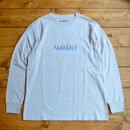 YARDSALE ASH GREY LONG SLEEVE T-SHIRT