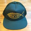 THRASHER Fish Mesh Snapback - Green