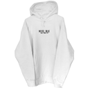 HOTEL BLUE Logo Hoody - White/Black
