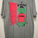LAUGH & PEACE TEE (GRAY)