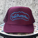 Puff Puff Kids MESH CAP (BURGUNDY/BLUE)