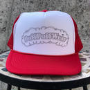 PuffPuff Stitch MESH CAP (RED/BLACK)