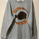 KAPPOJITTE  CREW NECK SWEAT (NIGHT WORKS ver)