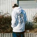 SANTOWN Man's ruin Hoodie  - White