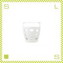 LIFEFACTORY ライフファクトリー ドリンクグラス 300ml オプティックホワイト シリコンカバー付グラス