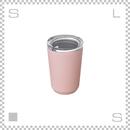 KINTO キントー トゥーゴータンブラー ピンク 360ml ステンレスボトル マグボトル 携帯ボトル